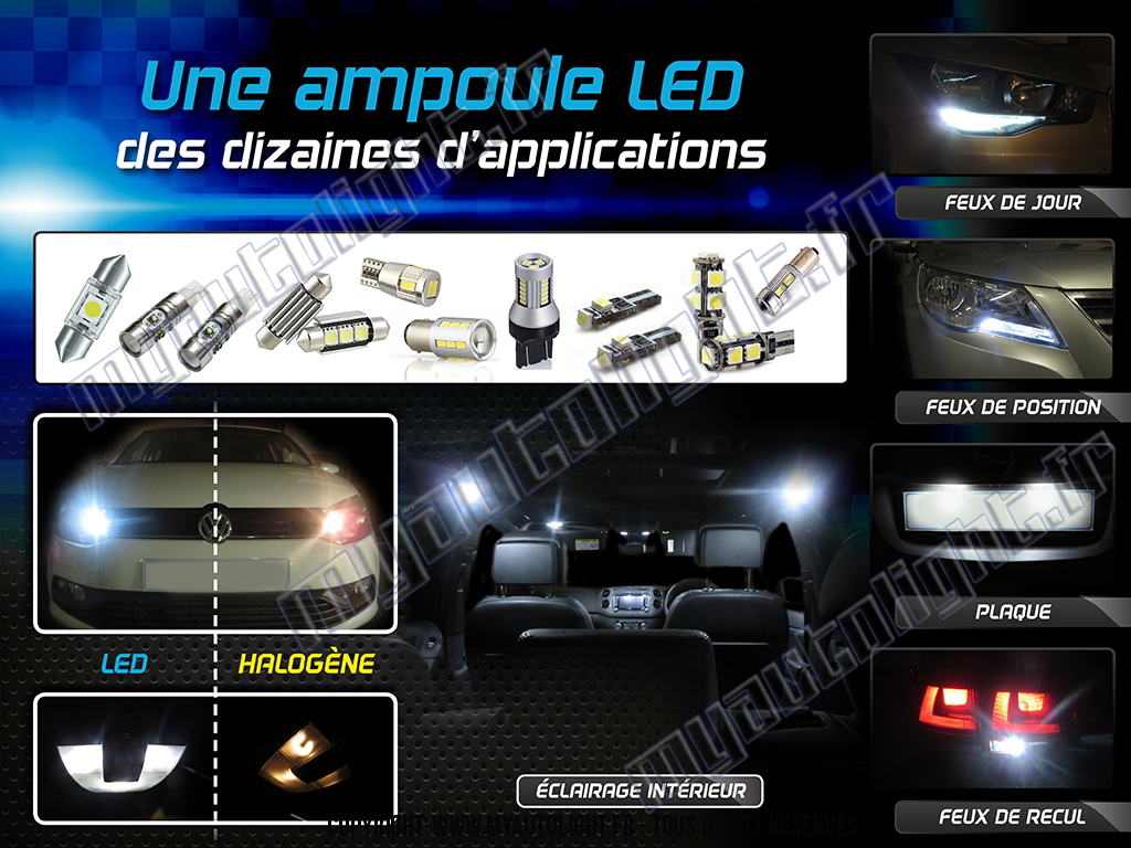 bien choisir et installer ses ampoules led sur sa voiture. Black Bedroom Furniture Sets. Home Design Ideas